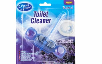 Blue Flush Toilet Bowl Cleaner Hanger