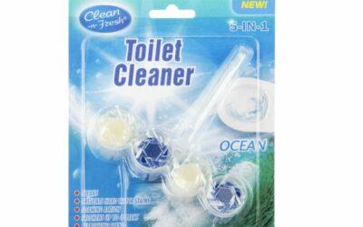 Hurricane Shape Toilet Bowl Cleaner Hanger
