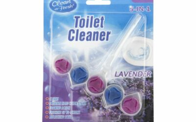 Water Drop Shape Toilet Bowl Cleaner Hanger
