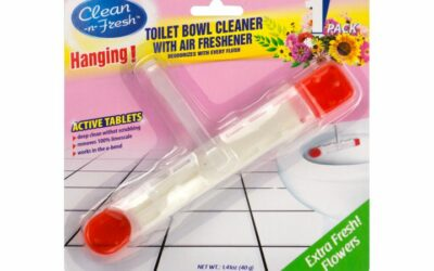 Long Strip Toilet Cleaner Hanger With Freshener Gel